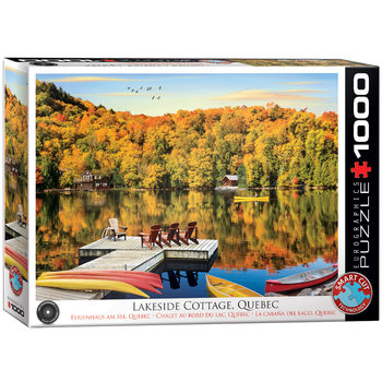 Puzzle Lakeside Cottage Quebec