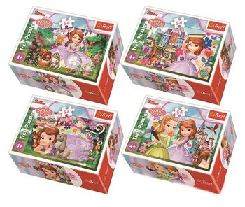 Puzzle Princess Sofia 4in1