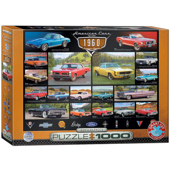 Puzzle American Cars of the 1960s