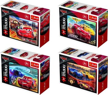 Puzzle Cars 3: New Winners 4in1