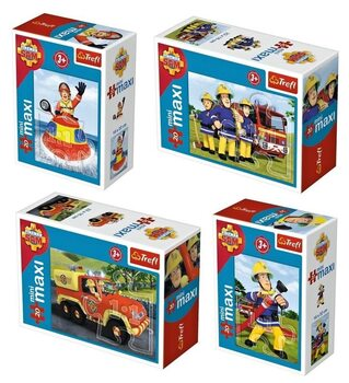 Puzzle Fireman Sam 4in1