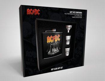 Flachmann: Geschenkset AC/DC - Hells Bells