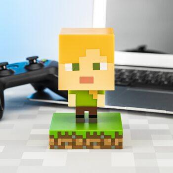 Lysende figur Minecraft - Alex