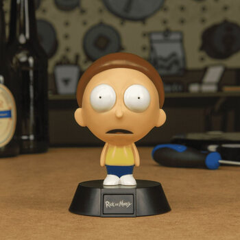 Lysende figur Rick & Morty - Morty