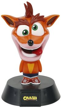 Lysende figur Crash Bandicoot - Crash
