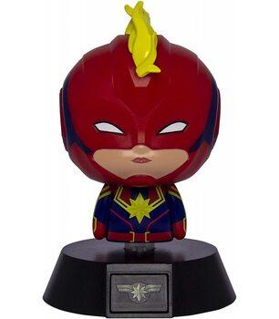 Lysende figur Marvel - Captain Marvel