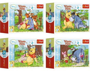 Puzzle Winnie the Pooh 4in1