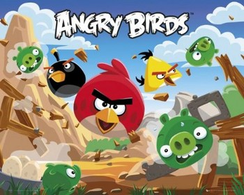 Angry Birds  - плакат (poster)