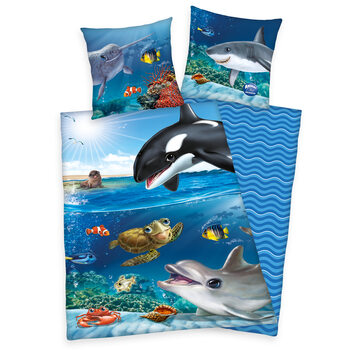 Linge de lit Animal Club - Ocean