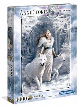 Puzzle Anne Stokes - Winter Guardians