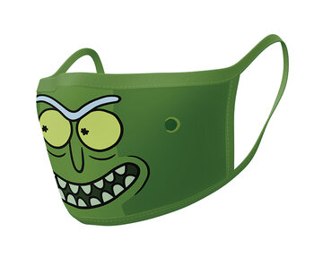 Ansiktsmaskar Rick & Morty - Pickle Rick (2 pack)