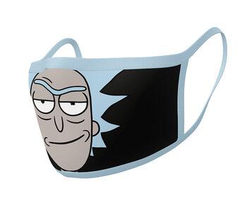 Ansiktsmasker Rick & Morty - Rick (2 pack)
