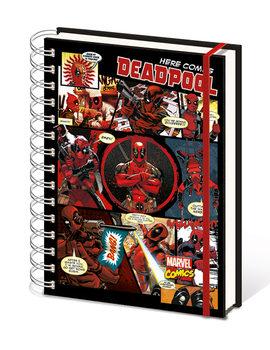 Anteckningsbok Deadpool