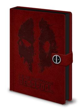 Anteckningsbok Deadpool - Splat