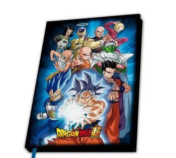 Anteckningsbok Dragon Ball - Universe 7