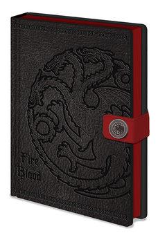 Anteckningsbok Game of Thrones - Targaryen