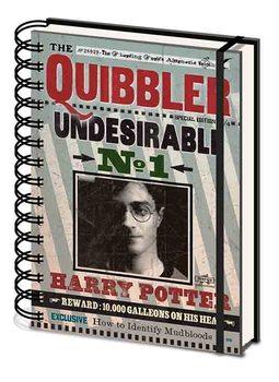 Anteckningsbok Harry Potter - Quibbler