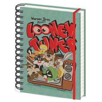 Anteckningsbok Looney Tunes - Retro TV