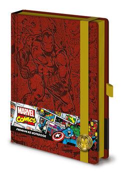 Anteckningsbok Marvel - Iron Man A5 Premium