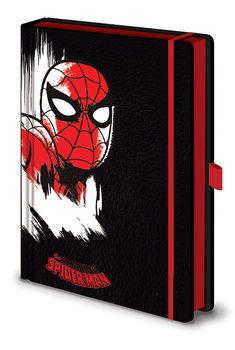 Anteckningsbok Marvel Retro - Spider-Man Mono Premium