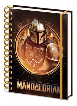 Anteckningsbok Star Wars: The Mandalorian - Bounty Hunter