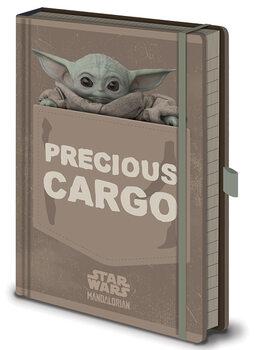 Anteckningsbok Star Wars: The Mandalorian - Precious Cargo