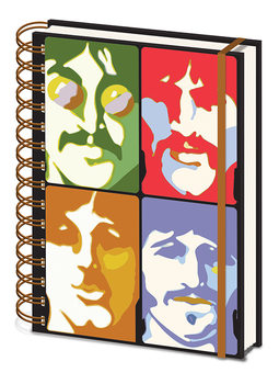 Anteckningsbok The Beatles - Yellow Submarine - Faces