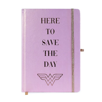 Anteckningsbok Wonder Woman - Social