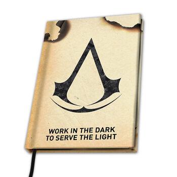 Anteckningsbok Assassin's Creed - Crest