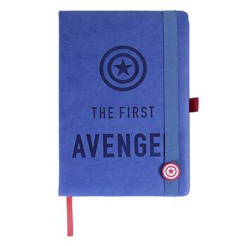 Anteckningsbok Avengers - Captain America