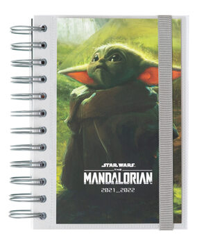 Anteckningsbok Dagbok Star Wars: The Mandalorian