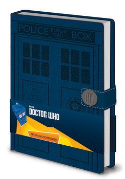 Anteckningsbok Doctor Who - Tardis