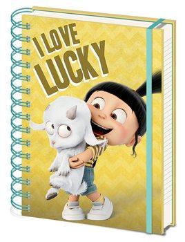 Dumma mej 3 - I Love Lucky Anteckningsbok