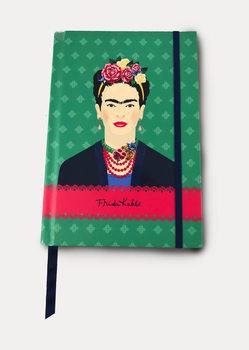 Frida Kahlo - Green Vogue Anteckningsbok