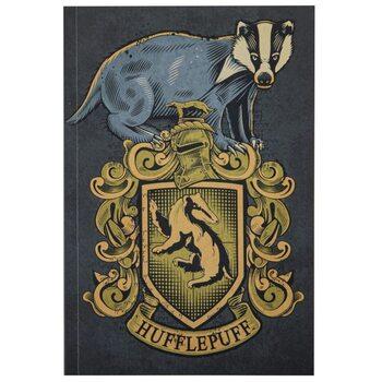 Anteckningsbok Harry Potter - Hufflepuff