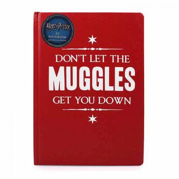 Anteckningsbok Harry Potter - Muggle Get Down