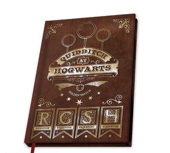 Anteckningsbok Harry Potter - Quidditch