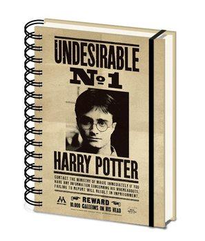 Anteckningsbok Harry Potter - Sirius & Harry 3D Cover