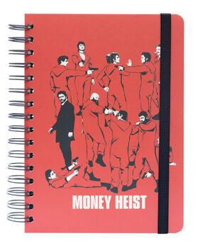 Anteckningsbok Money Heist (La Casa De Papel)
