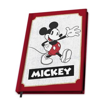 Anteckningsbok Musse Pigg (Mickey Mouse)