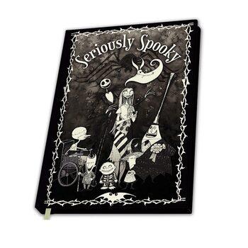 Anteckningsbok Nightmare Before Christmas - Seriosly Spooky
