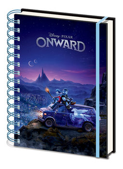 Anteckningsbok Onward (Framåt) - Fantasy Skyline