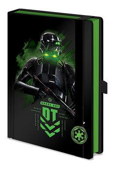 Anteckningsbok Rogue One: Star Wars Story -  Death Trooper A5 Premium