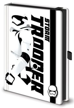 Anteckningsbok Star Wars Episod VII: The Force Awakens - Stormtrooper Premium A5