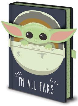 Star Wars: The Mandalorian - I'm All Ears Cribs Anteckningsbok