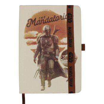 Anteckningsbok Star Wars: The Mandalorian
