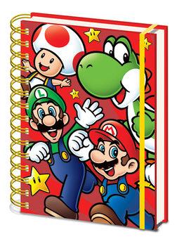 Super Mario - Run Anteckningsbok