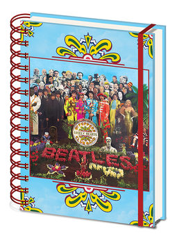 Anteckningsbok The Beatles - Sgt, Pepper's Lonely Hearts