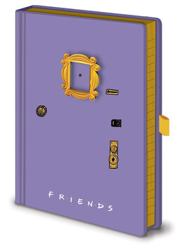 Anteckningsbok Vänner - Frame