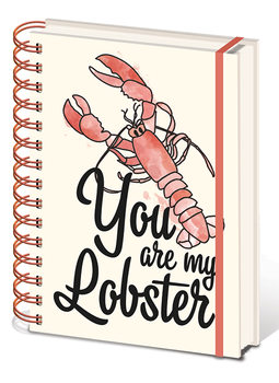 Vänner - You are my Lobster Anteckningsbok